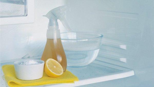 Уксус, сода и лимон помогут избавиться от запахов