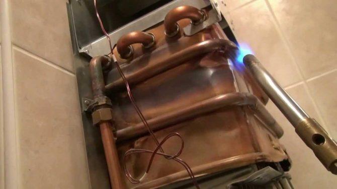 Ремонт теплообменников газовых колонок в уфе прокладка для теплообменника alfa laval цена