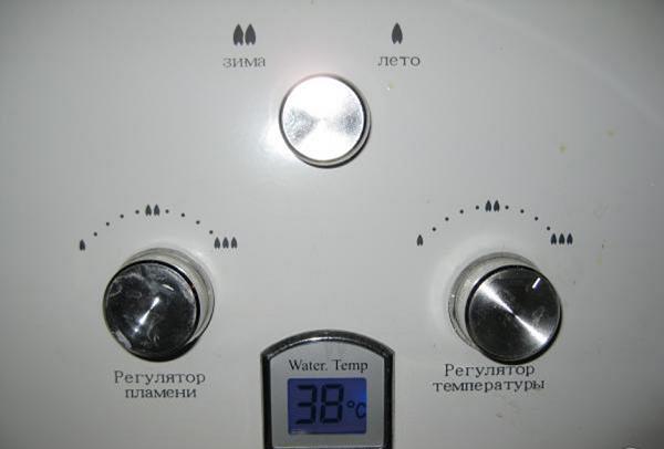 Стандартный блок управления газовой колонкой