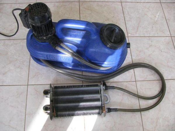 Теплообменник для газовой колонки: промыть, запаять своими руками