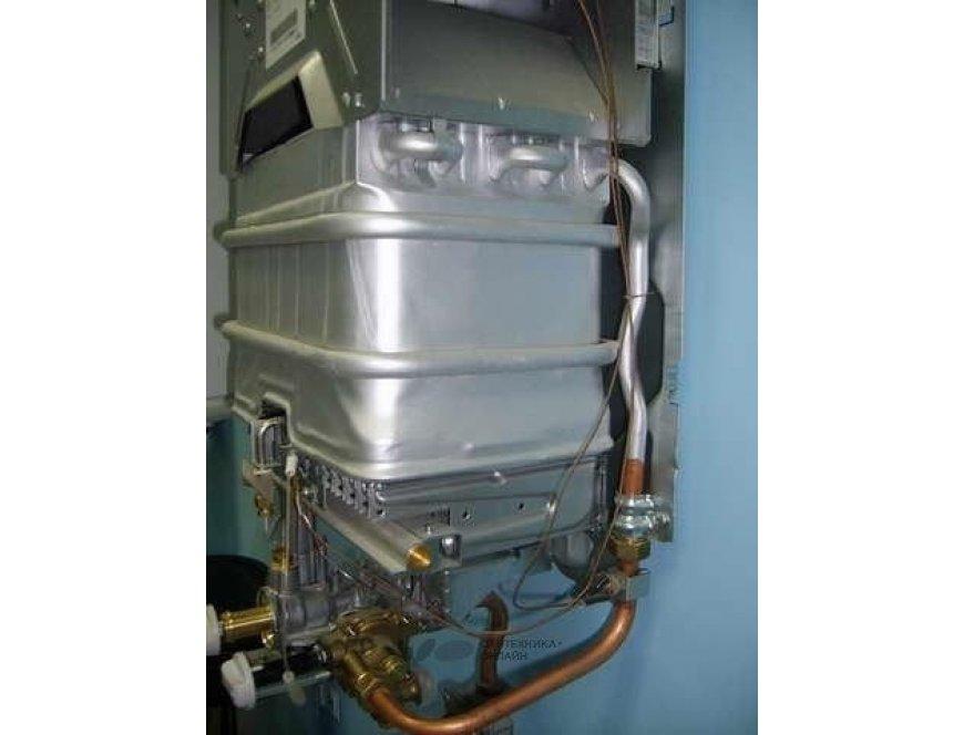 Теплообменник газовой колонки Вайллант