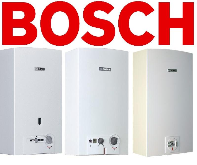 Линейки газовых колонок Бош