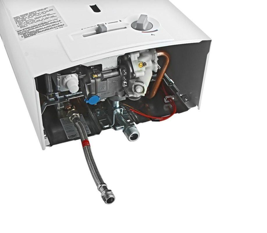 Модель колонки Bosch WR 13-2P с открытой камерой сгорания