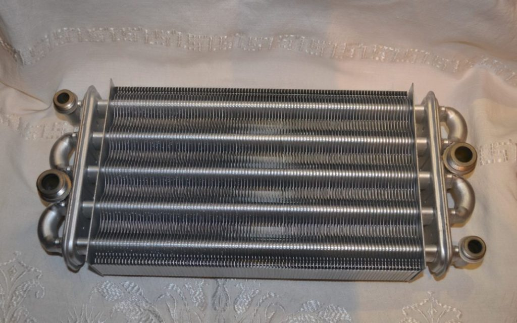 Чистый теплообменник с защитным покрытием