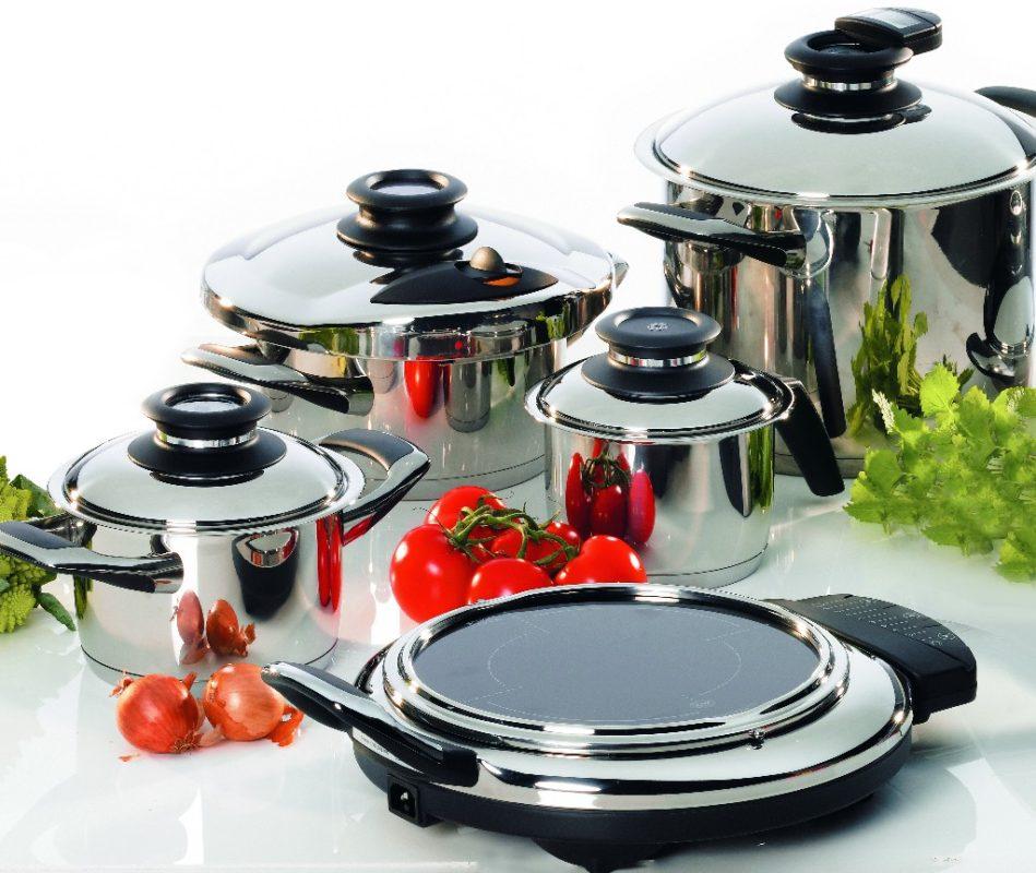 Металлическая посуда непригодна для СВЧ