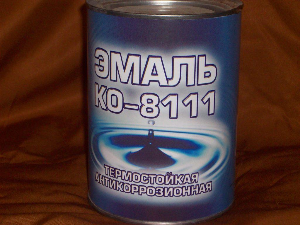 Термостойкая антикоррозионная эмаль