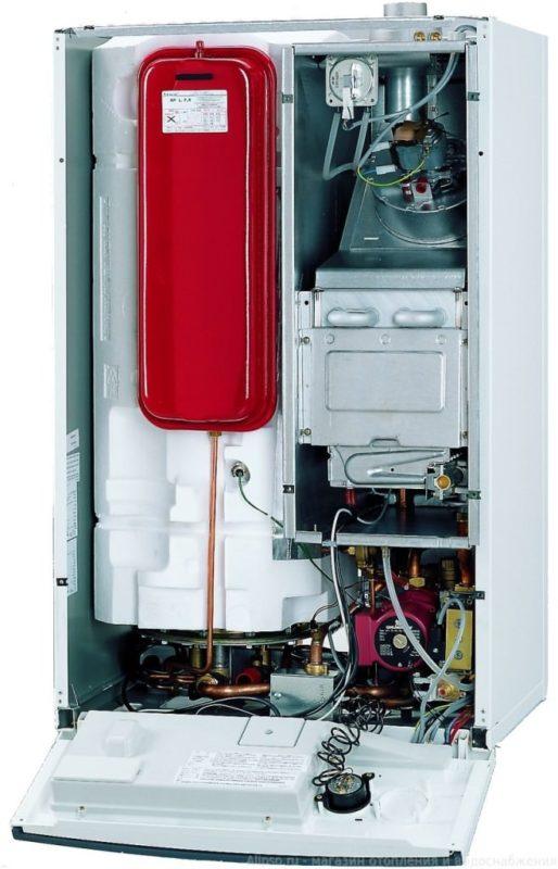 Газовый котел со строенным расширительным баком