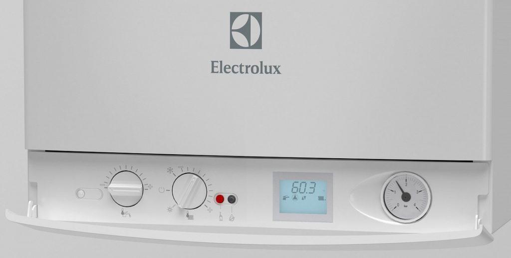 Удобная панель управления котлом Электролюкс