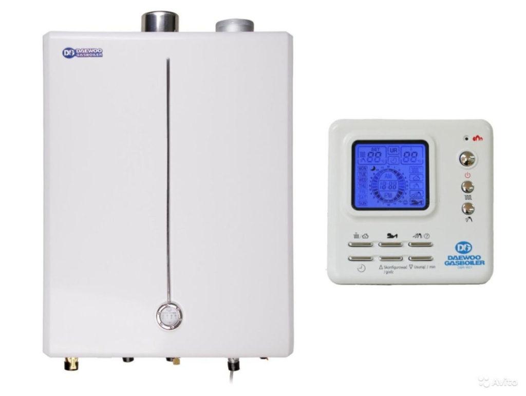 Система управления газовым котлом Дэу