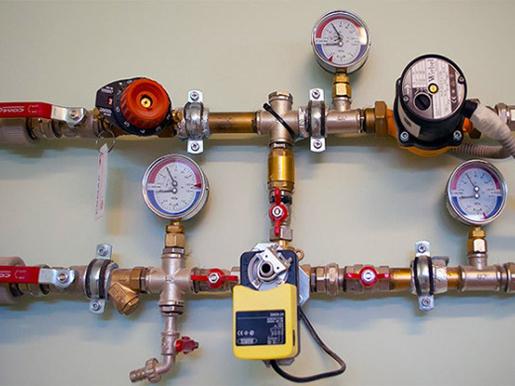 Система и приборы водяной разводки газового котла