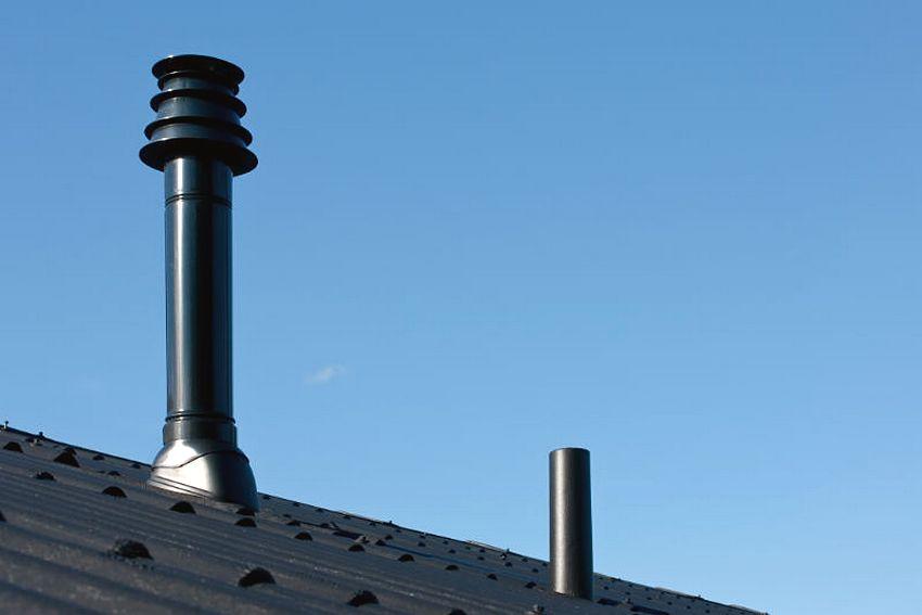Дымоходы на крыше