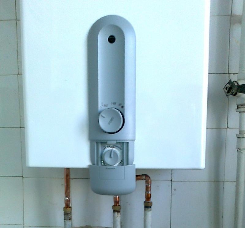 Полуавтоматическая газовая колонка