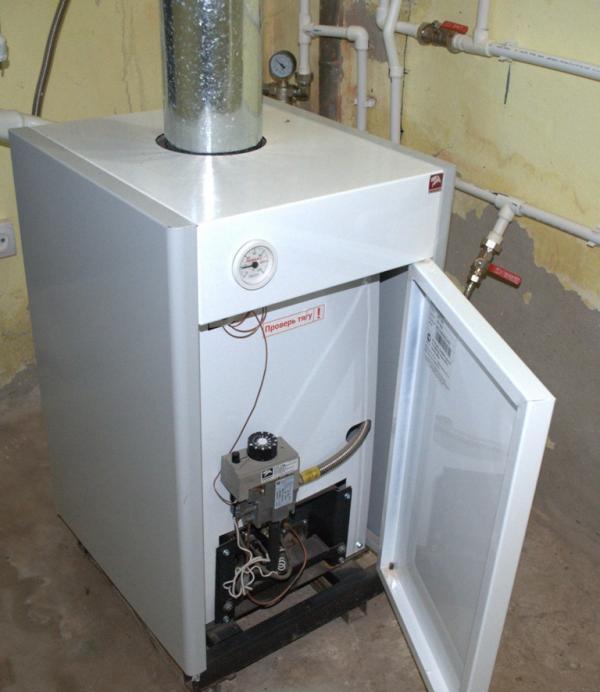 Газовый котел КСц-ГВ-12