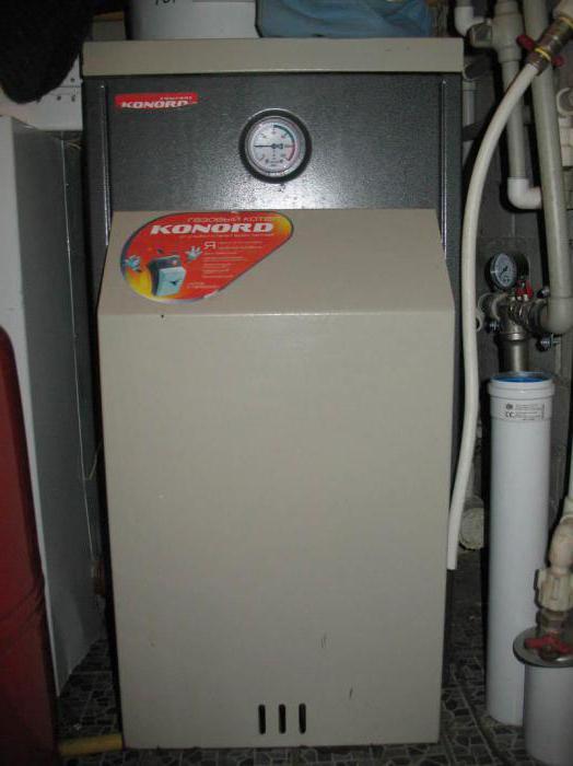Газовый котел Конорд в интерьере