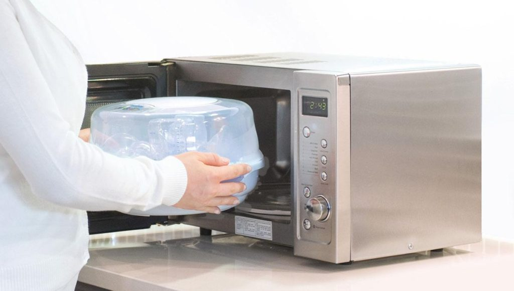 Стерилизация посуды в СВЧ