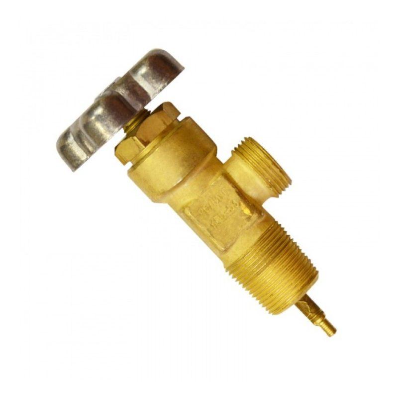 Запорный газовый вентиль
