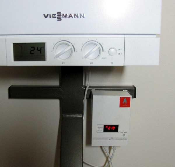 Газовый котел и стабилизатор напряжения