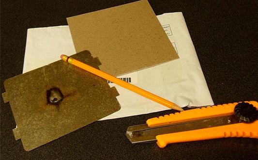Материалы для ремонта слюдяной пластины