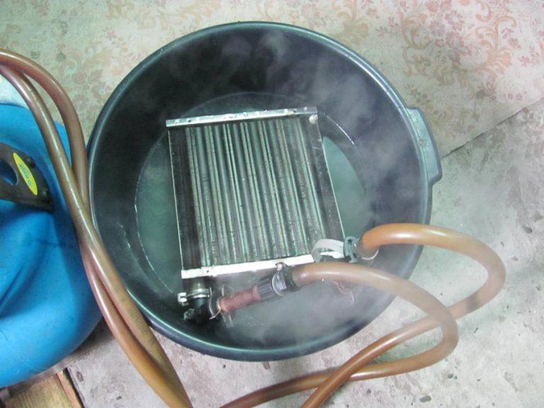 Промывка теплообменника от накипи