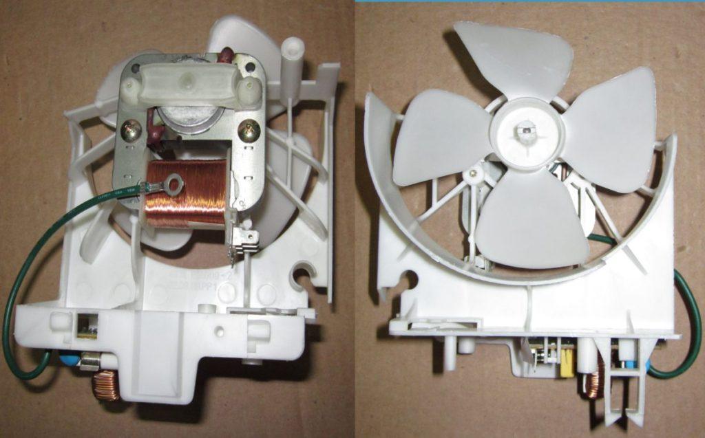 Вентилятор СВЧ печи