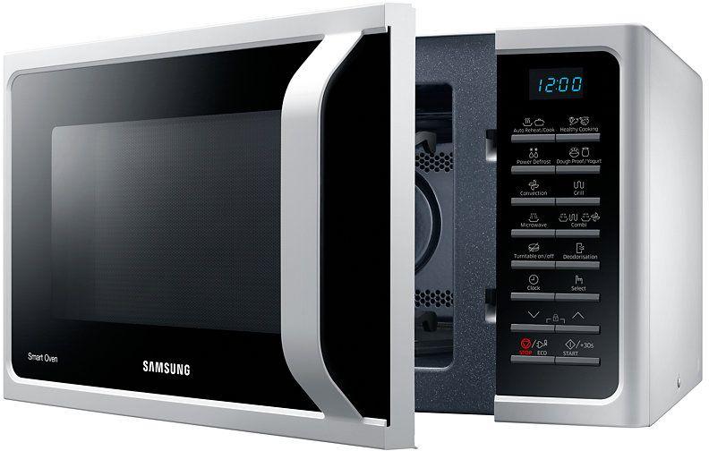 СВЧ с грилем и конвекцией Samsung MC28H5013AW