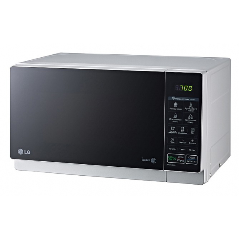 LG MS2043HS - СВЧ с тремя излучателями