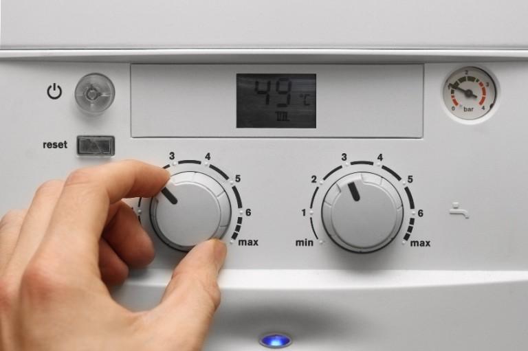 Регулировка температуры в котле