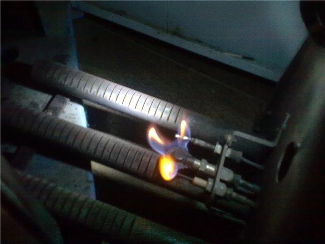 Розжиг газового котла