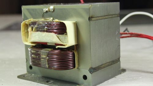 Сварочный аппарат из трансформатора свч стабилизатор переменного напряжения электронный