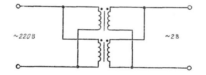 Схема переделки трансформатора СВЧ