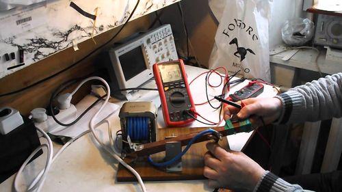 Проверка параметров мультиметром