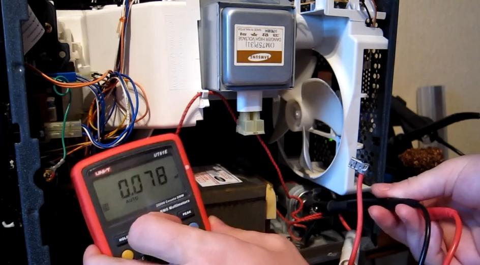 Тест конденсатора мультиметром