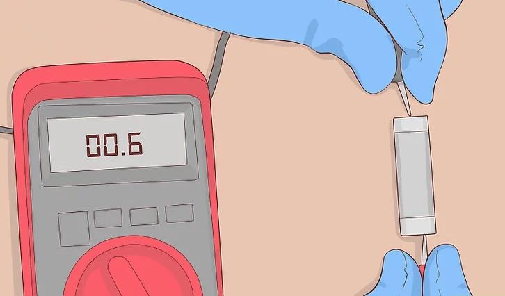 Схема проверки предохранителя мультиметром