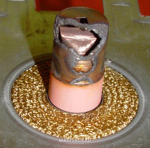 Проходной колпачок магнетрона