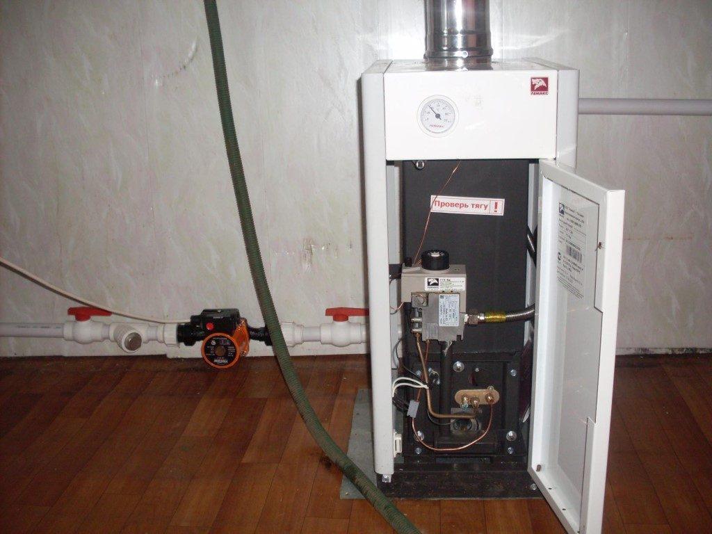 Включение газового котла, первый запуск: инструкция