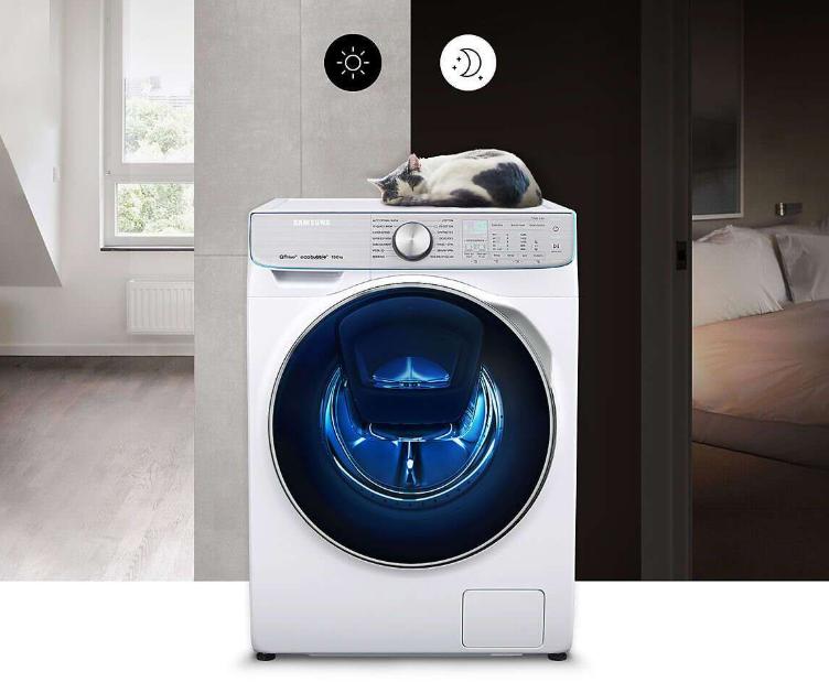 Малошумная стиральная машина в доме