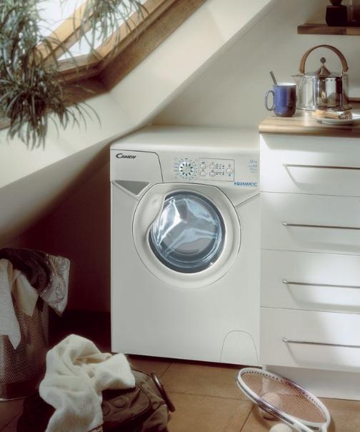 Малогабаритная стиральная машина в интерьере