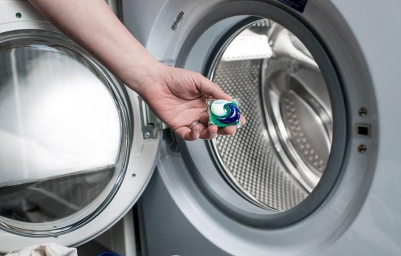 Капсулы моющего средства для стирки