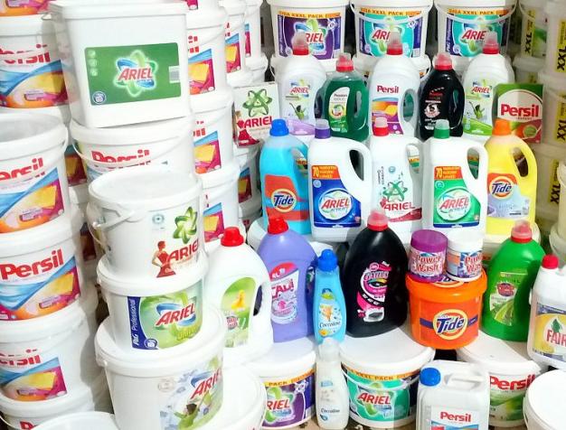 Разнообразие моющих средств для стирки
