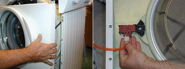 Отключение УБЛ и демонтаж передней панели