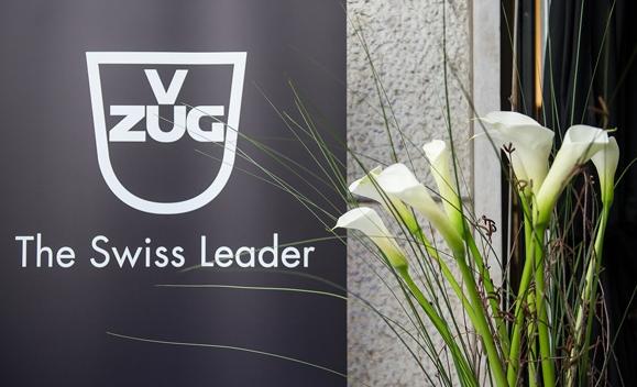 Логотип и слоган бренда V-ZUG