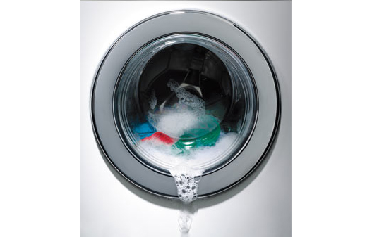 Перелив воды из стиральной машины