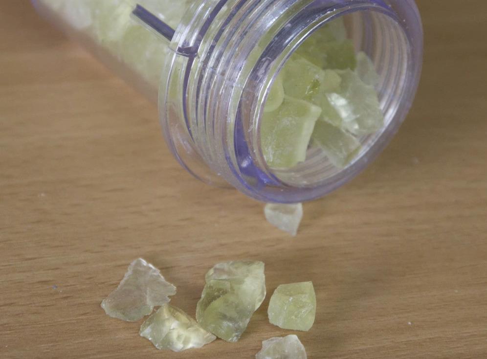 Гранулы фильтрующей соли
