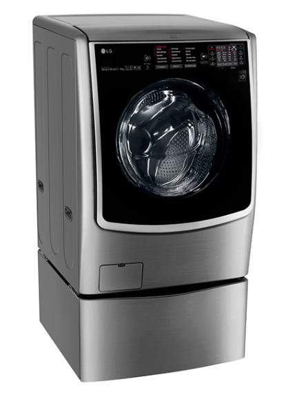 Двухбарабанная модель LG TWINWash TW7000DS