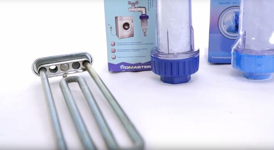 ТЭН и полифосфатный фильтр