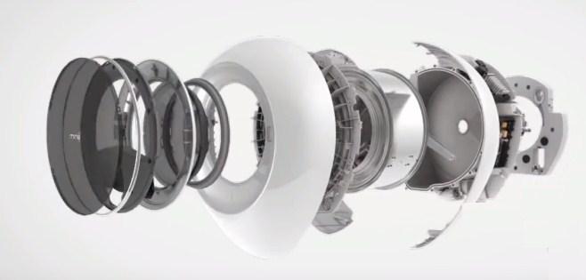 СМА MiniJ Mini Smart White в разрезе