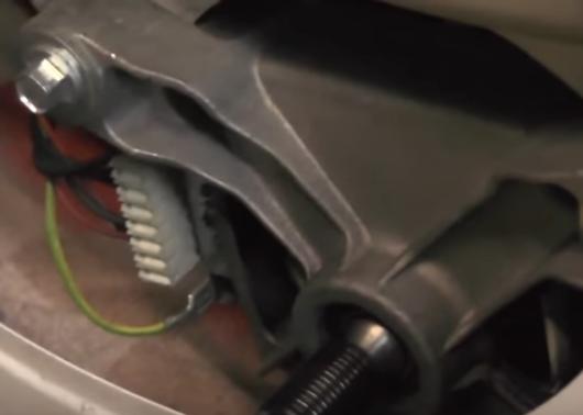 Проводка двигателя стиральной машины