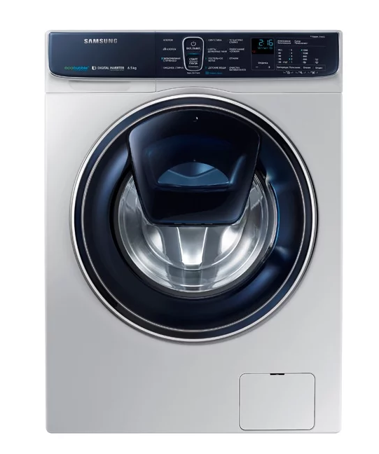 Узкая стиральная машина WW65K52E69S с сенсорным управлением