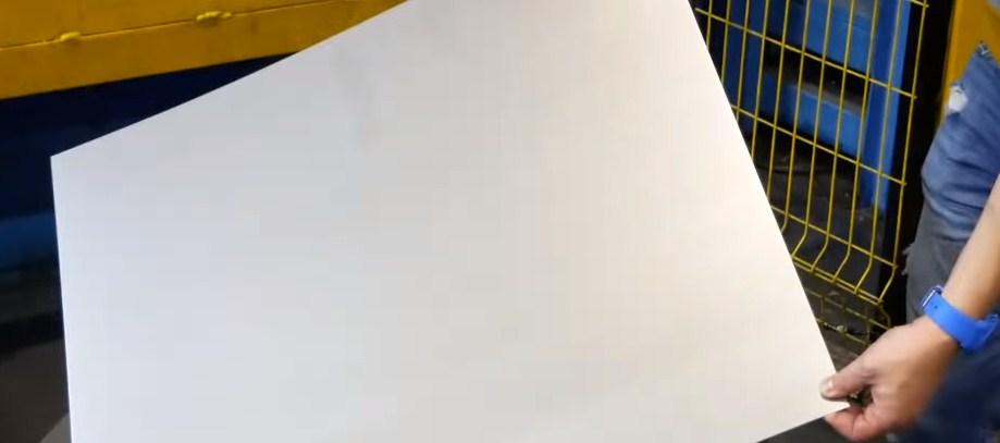 Металлические листы для лицевых панелей СМА