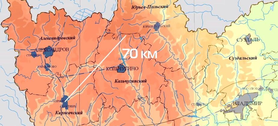 Сборочный завод на карте области
